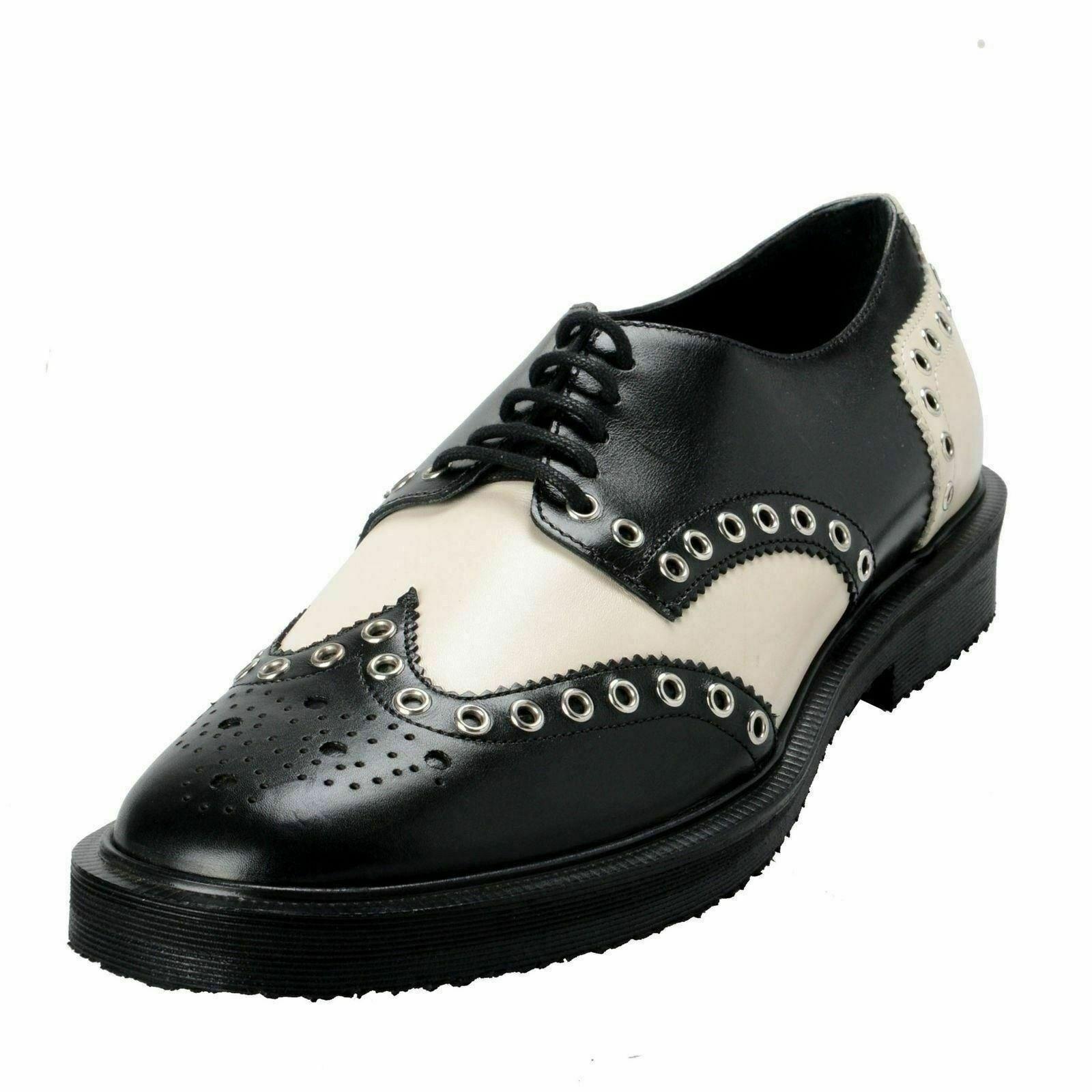 Giuseppe Zanotti Mens Bicolor Leather Lace Up shoes Oxford USA 9 en 42