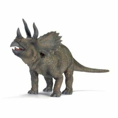 RETIRED NEW SCHLEICH 16452 Triceratops 1:40 scale 22cm x 12cm