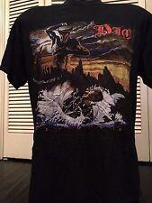 Rare Dio Holy Diver Tour Shirt Sz M/L Maiden Rock Satanic Metal Sabbath Slayer