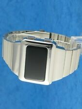 Rare old style modern futuristic 70s seventies space age mens led l.e.d watch 14