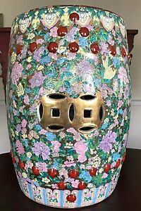 Strange Details About Antique Chinese Porcelain Garden Stool Pabps2019 Chair Design Images Pabps2019Com