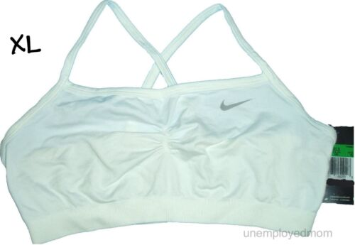 Nike Bra Athletic Sports Youth Girls Active Racerback Cheer Teens Pull Over BTS