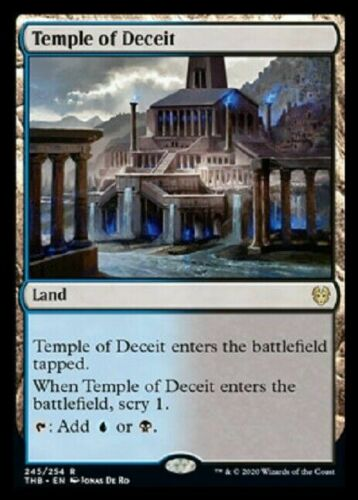 THEROS BEYOND DEATH X4 TEMPLE OF DECEIT NM THB MTG MAGIC ~NOSTALGIC TREASURES~
