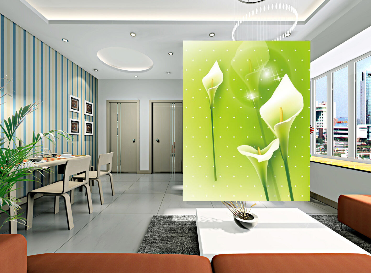 3D Weiß flowers 243 Wall Paper Wall Print Decal Wall Deco Indoor Wall Murals