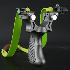 Profi-Survival-Katapult-Steinschleuder-aus-Stahl-Zwille-Sportschleuder-Draussen