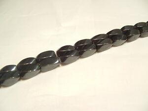 16-034-String-Hematite-Beads-HEM62-12mm-Twist-NOT-magnetic