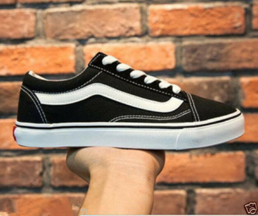 Men Women Student VAN OLD SKOOL Classic Top Suede Canvas Sneakers Flats Shoes