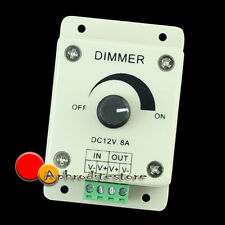 Dimmer Controller Intensità Luce LED Striscia Monocolore DC12V 8A Offerta