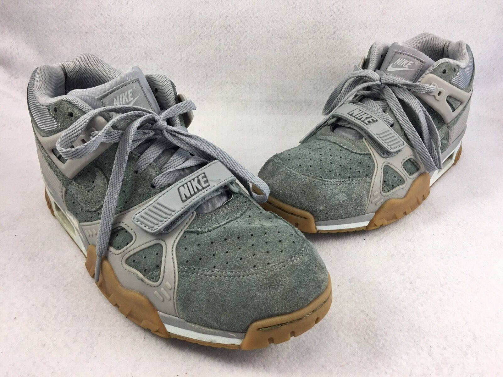 Seasonal price cuts, discount benefits Nike Air Trainer 3 Shoes Mens Sz 10.5 Wolf Grey White Light Gum 705426 003