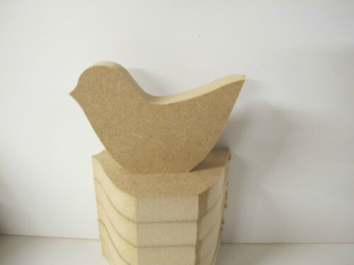 Wooden Birds 18mm thick Free Standing Quality 3 sizes Available