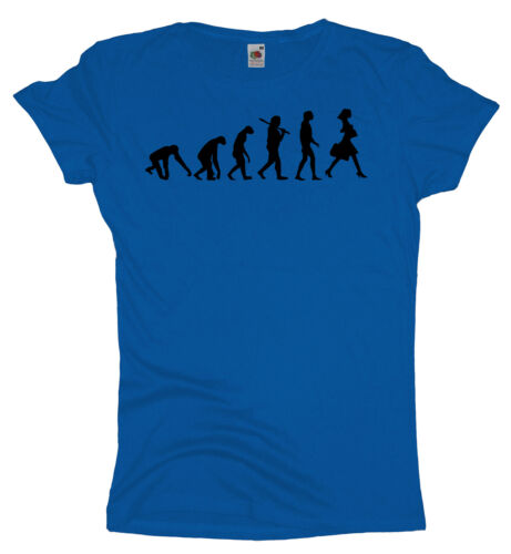 Ma2ca ShoppingDamen Girlie T Shirt Frauen Rundhals TShirt