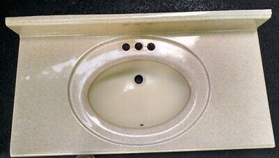 Solid Surface Bathroom Vanity Top 37 X 19 Ebay