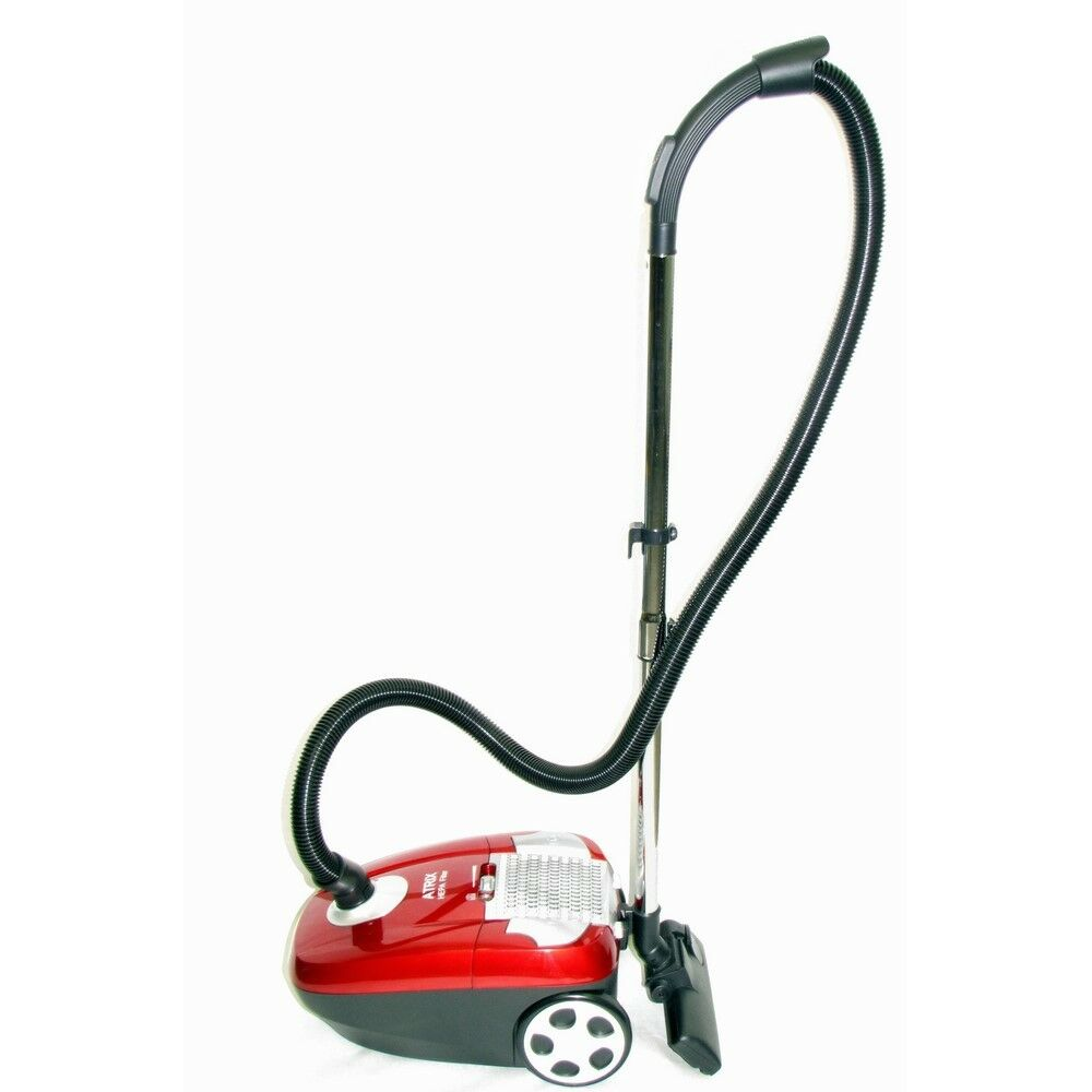 Atrix - Turbo Red Ahc-1 Canister Vacuum With 6 Quart Hepa Filter And Variable Sp