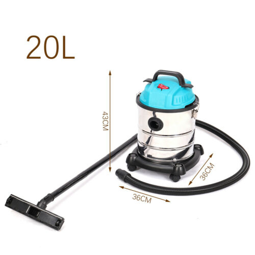 3000W Vac 30/50/80L MultiClean Wet and Dry Vacuum Cleaner Garage Auto Cleaning