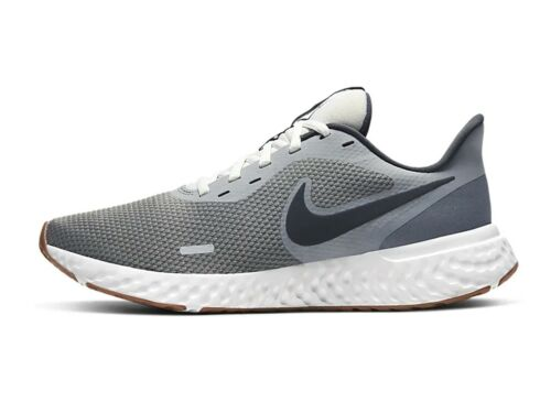 SCARPE RUNNING UOMO NIKE BQ3204 008 REVOLUTION 5 SMOKE GREY/DK SMOKE GREY