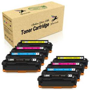 8PK CF410X High Yield Toner For HP Color LaserJet Pro MFP M452dw M452dn M477fnw