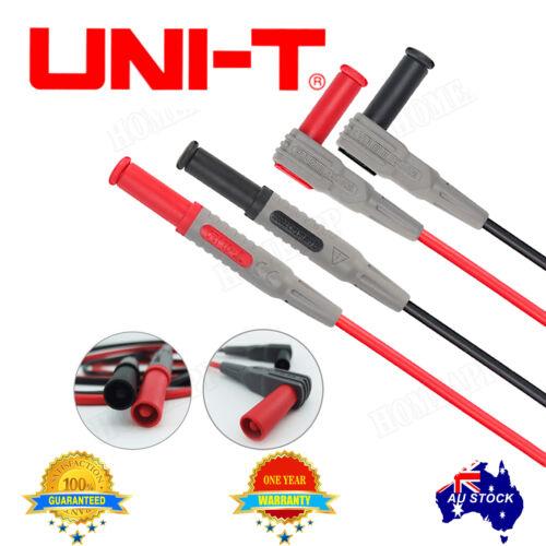 UNI-T UT-L09 Multimeter test extention lead probe 1000V 10A High Current AU