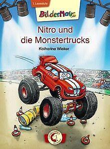 Nitro-und-die-Monstertrucks-von-Wieker-Katharina-Buch-Zustand-gut