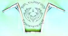 "JSR CUSTOM CHOPPERS  16"" x 1 1/4"" Ape Hangers for VICTORY,HONDA,YAMAHA,METRIC"