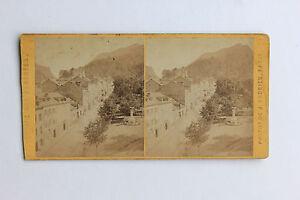 Eaux Buona Stereo J.Andrieu di Carta Albume D'Uovo Vintage C 1875