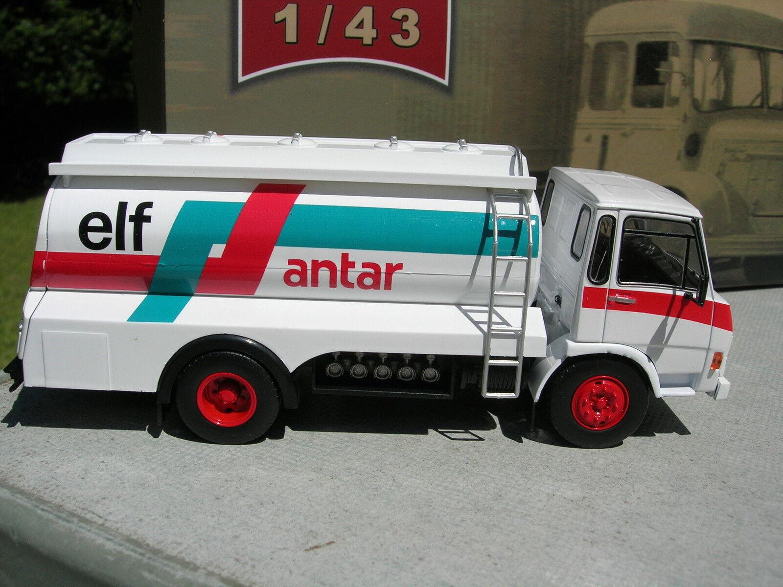 IXO 1 43 CAMION BERLIET 770K 1976 CITERNE PETROLIERE ELF ANTAR