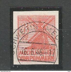Sowjetische-Zone-SBZ-Abschiedsserie-Nr-34-X-gestempelt-geprueft-BPP