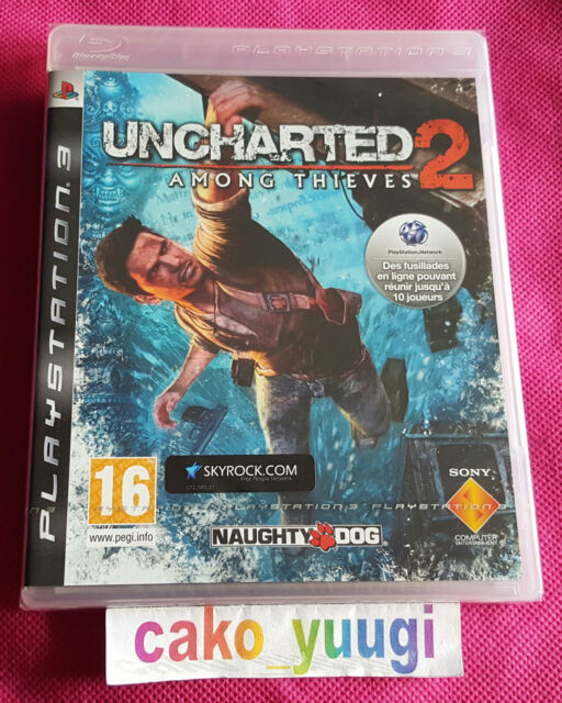 UNCHARTED 2 AMONG THIEVES 1ERE EDITION SONY PS3 NEUF SOUS BLISTER FRANCAIS