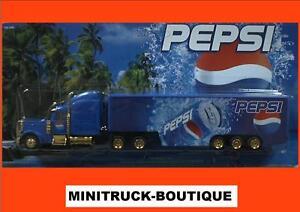 Pepsi-Cola-On-the-beach-2-US-Freightliner-Sattelzug