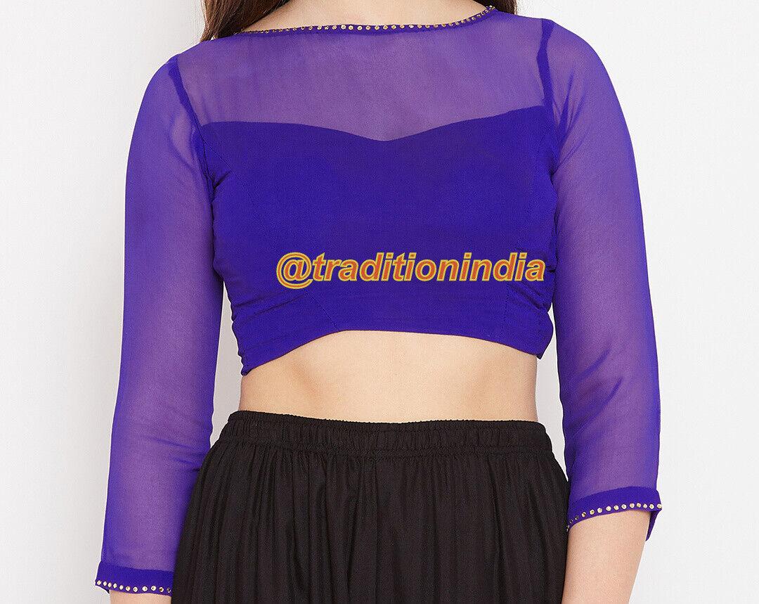 Readymade Saree Blouse, Dupion Silk Blouse, Designer Sari Blouse, Indian Top