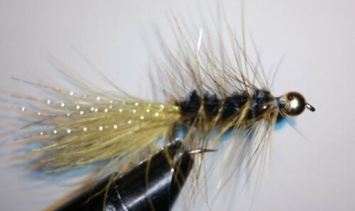 Woolly Bugger Size 6 Freshwater Olive//dk olive B.H Sold per 6