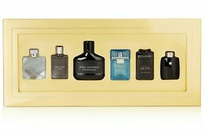 Macys 6 pc Fragrance/Perfume Mini Gift Set Jimmy C,Versace, Azzaro ...