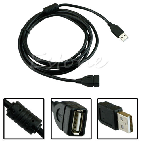 2.8M 9FT USB 2.0 A Male to A Female Extension Cable Cord Wire Lead For PC Laptop