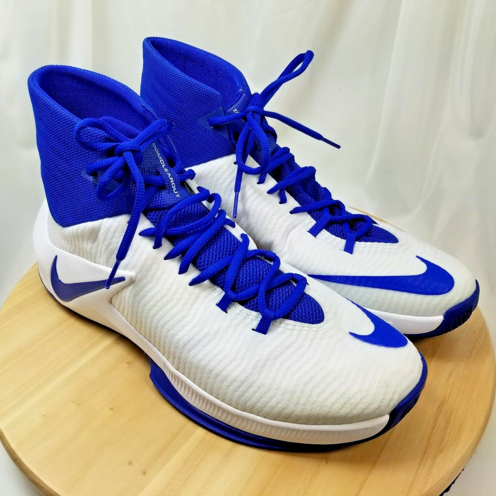 Nike Zoom Clearout White / Blue HighTop US:12/UK:11