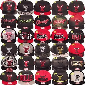 New Era CHICAGO BULLS NBA 9Fifty 950 Snapback Strapback Adjustable ... 1b31ce50ccd7