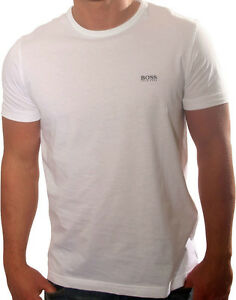 MENS exHUGO BOSS DESIGNER TSHIRT SIZE XXXL 3XL 48034 WHITE CASUAL TOP NEW - <span itemprop=availableAtOrFrom>london, London, United Kingdom</span> - Returns accepted - london, London, United Kingdom