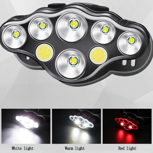 Outdoor Night Sports Headlamp T6 LED Headlight Head Lamp Torch USB Rechargeable