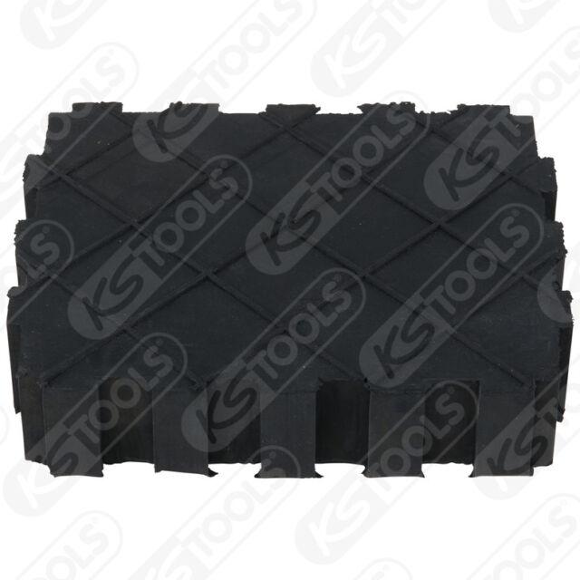 KS Tools 160.0391 Universal Gummiauflage f/ür Hebeb/ühne 155x125x35 mm
