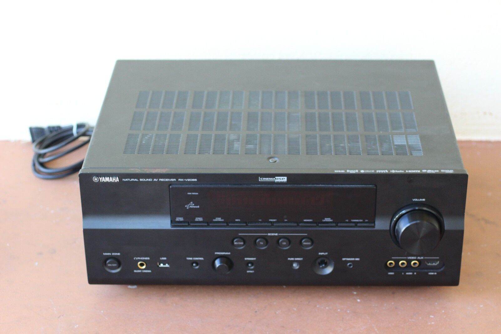Yamaha RX V2065 7.2 Channel 130 Watt Receiver | eBay