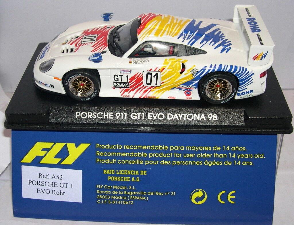 FLY A52 PORSCHE 911 GT1 EVO DAYTONA 1998 ROHR Mc NISH-SULLIVAN-MUELLER MB