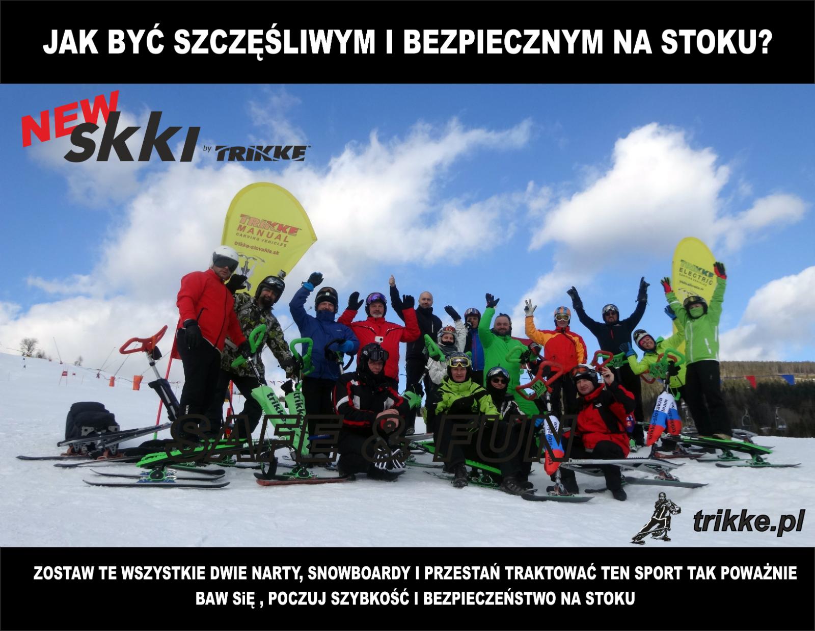 Skki - Trikke - Skki 2017 model - Trzy narty ed57ac