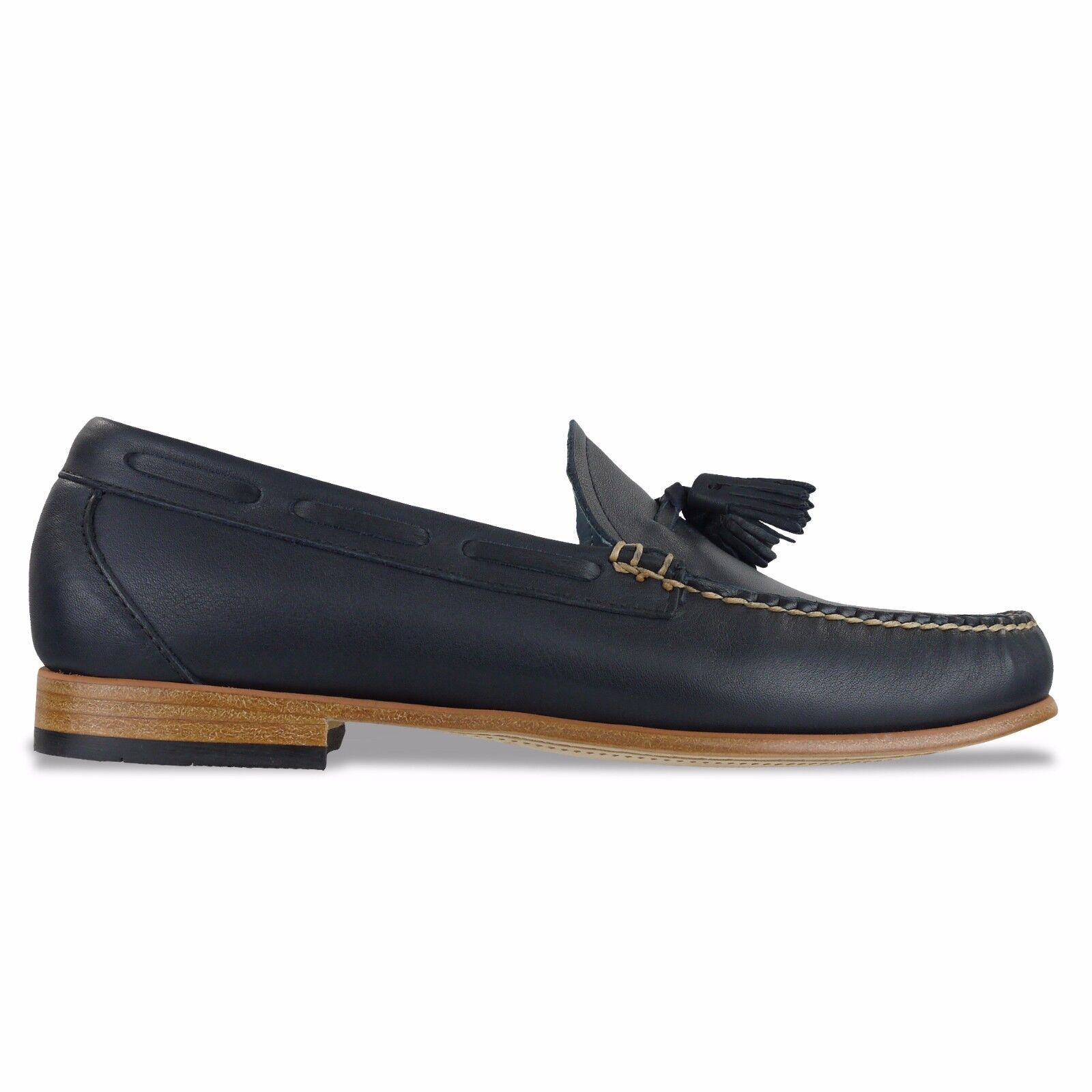 G.H BASS WEEJUNS Schuhe - PALM SPRINGS LARKIN LEATHER LOAFER - NAVY, BROWN - BNIB