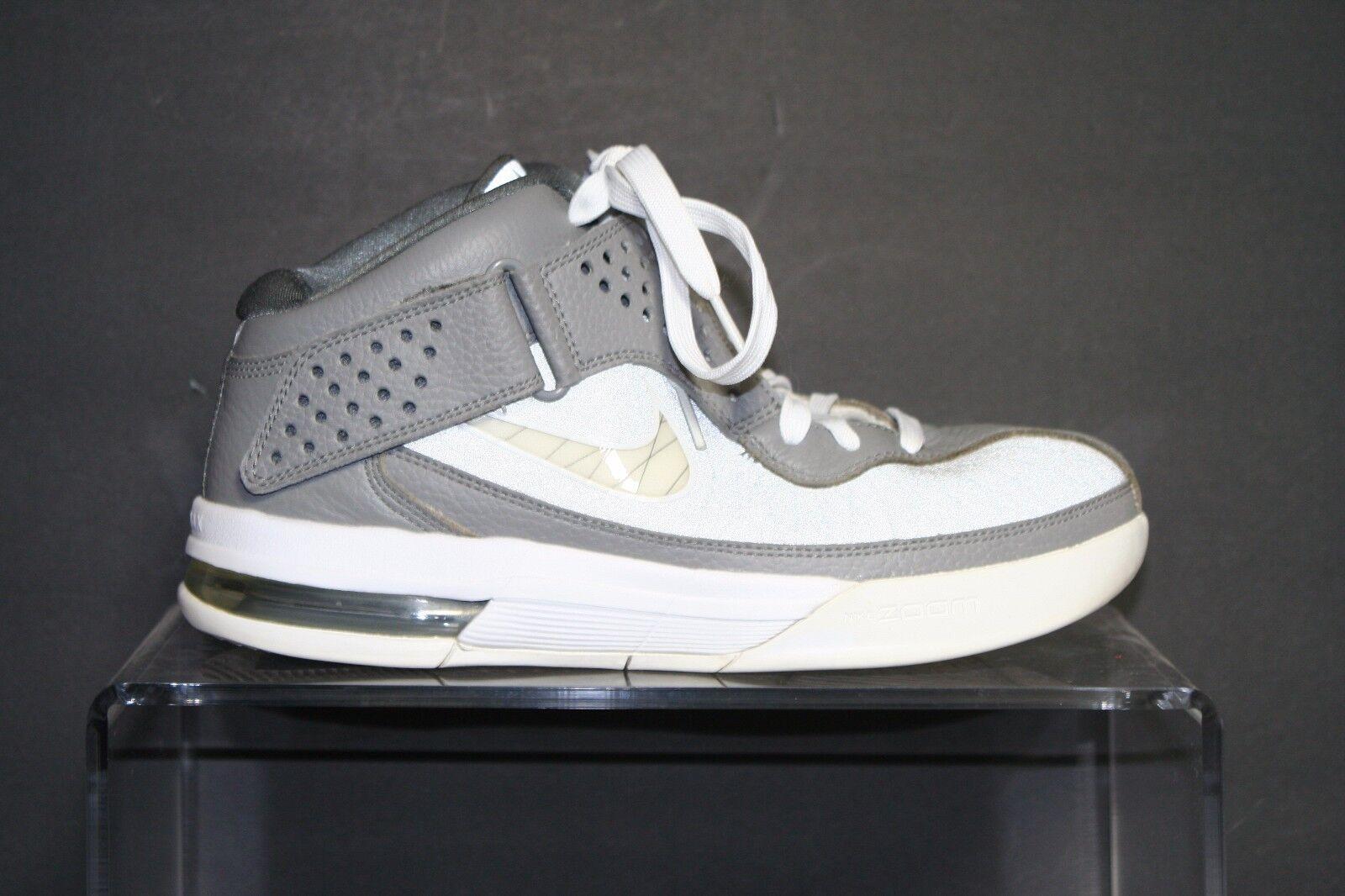 Nike zoom lebron soldato / 5 2011 - cool grey bianchi 8 atletico cavs nba