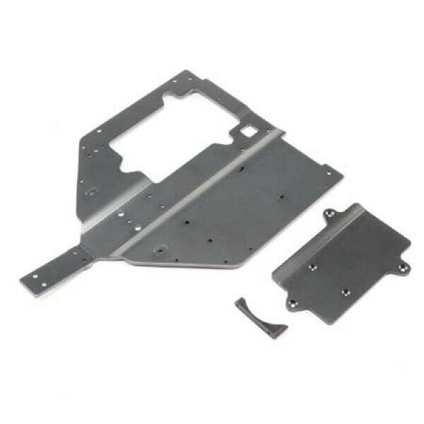 Losi LOS251061 Chassis & Motor  Cover Plate  1 6 Super Baja Rey  acquisto limitato
