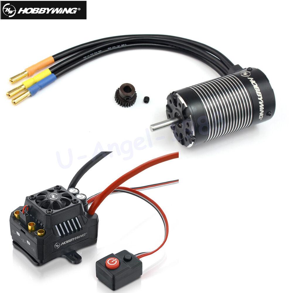 Hobbywing EZRUN MAX10 SCT 120A Brushless ESC+3660 G2 Sensorless Motor