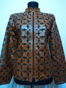Brown-Plus-Size-Leather-Coat-for-Woman-Jacket-Women-Zipper-Short-Collar-Zip-D6