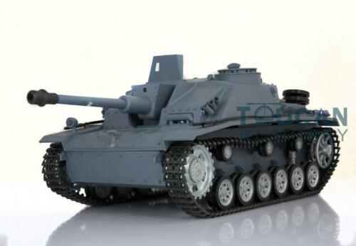 US Stock 3868 German Stug III RC RTR HengLong Tank Metal Wheel Track 1//16 Scale