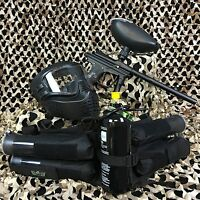 Azodin Blitz Evo Epic Paintball Marker Gun Package Kit - Black