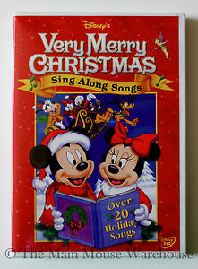 Disney Sing Along Songs Very Merry Christmas Songs 2002.Very Merry Christmas Songs Dvd Sequoia National Park Lodging
