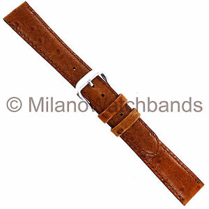 16mm-deBeer-Honey-Brown-Handcrafted-Ostrich-Grain-Genuine-Calfskin-Watch-Band