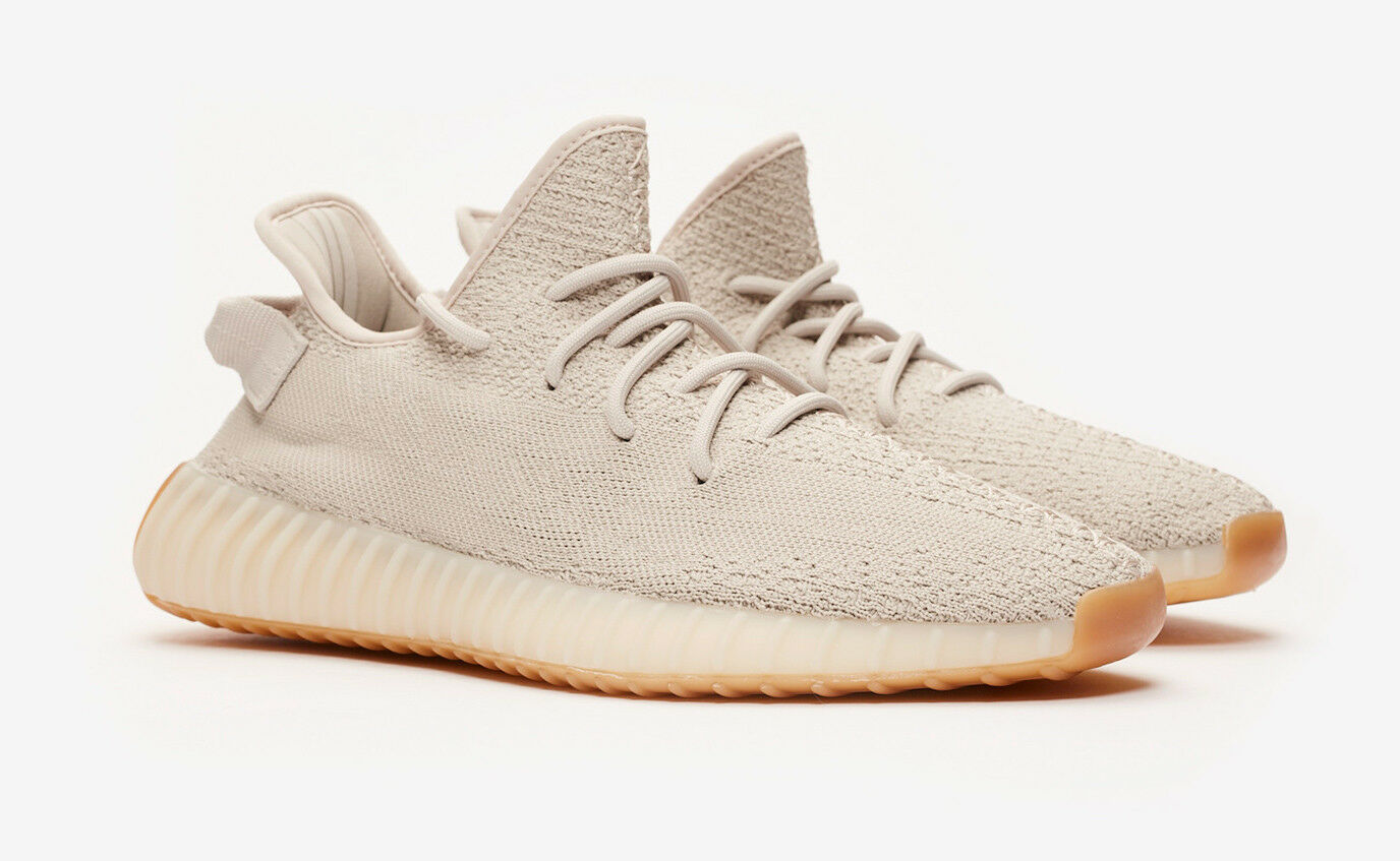 Adidas Yeezy Boost 350 V2 Sesame F99710 New Dead Stock Kanye West Authentic  8